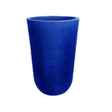 Vaso Cerâmica Americano Azul Grande