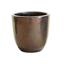 Vaso Cerâmica Americano Cobre Médio