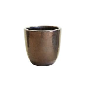 Vaso Cerâmica Americano Cobre Pequeno