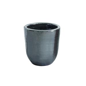 Vaso Cerâmica Americano Cromo Pequeno
