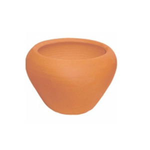 Vaso Cerâmica Aquário Terracota Médio