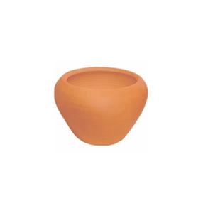Vaso Cerâmica Aquário Terracota Pequeno
