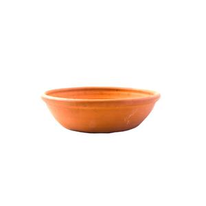 Vaso Cerâmica Bacia Riscada Terracota Médio