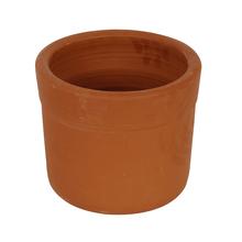 Vaso Cerâmica Begônia sem Pé Terracota Grande