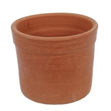 Vaso Cerâmica Begônia sem Pé Terracota Médio