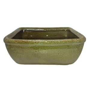 Vaso Cerâmica Bonsai Bege Grande