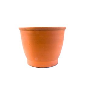 Vaso Cerâmica Cilindro Baixo Grande