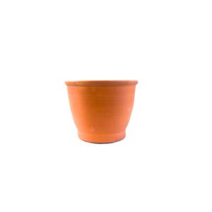 Vaso Cerâmica Cilindro Baixo Médio