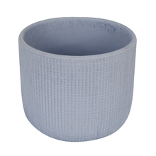 Vaso Cerâmica Comfort Zone Basic Grande Azul