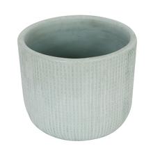 Vaso Cerâmica Comfort Zone Basic Grande Azul Claro