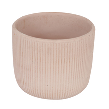 Vaso Cerâmica Comfort Zone Basic Grande Rosa