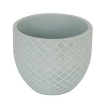 Vaso Cerâmica Comfort Zone Layer Grande Azul Claro