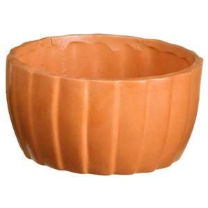 Vaso Cerâmica Frisado 10x14cm Vasos & Cia