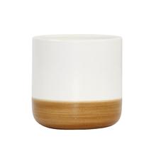 Vaso Cerâmica Nature Pequeno Branco