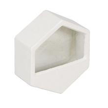 Vaso Cerâmica Neutral Parede Pequeno Cinza