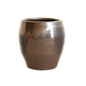 Vaso Cerâmica Toscano Cobre Grande