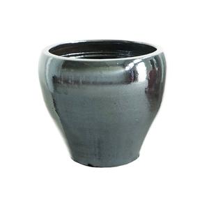 Vaso Cerâmica Tulipa Cromo Grande