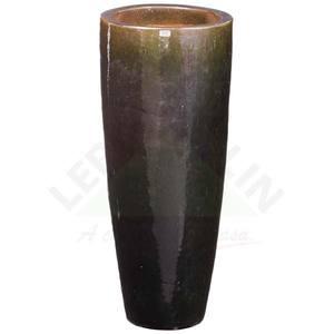Vaso Cerâmica Vietnamita STKQK 069 38x90cm Verde D&D
