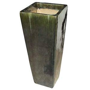 Vaso Cerâmica Vietnamita TTP3008 28x60cm Verde D&D