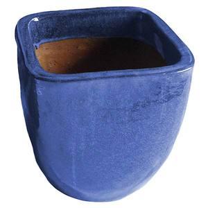 Vaso Cerâmica Vietnamita TTP3028 50x50cm Azul D&D