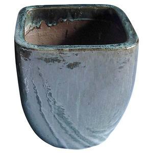 Vaso Cerâmica Vietnamita TTP3028 50x50cm Verde D&D