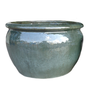 Vaso cer mica vietnamita verde grande leroy merlin - Ceramica leroy merlin ...
