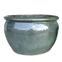 Vaso Cerâmica Vietnamita Verde Grande