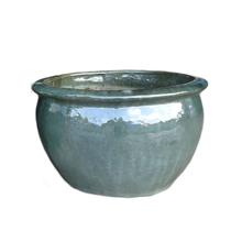 Vaso Cerâmica Vietnamita Verde Médio