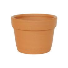 Vaso de Cerâmica Redondo Terracota 13x13x9,50cm