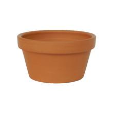 Vaso de Cerâmica Redondo Terracota 15x15x8cm