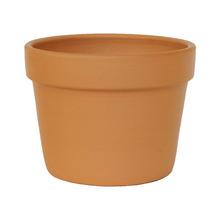 Vaso de Cerâmica Redondo Terracota 17,50x17,50x12,50cm