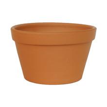 Vaso de Cerâmica Redondo Terracota 19x19x11cm
