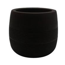 Vaso de Polietileno Bollati Redondo Marrom 40x40x39cm