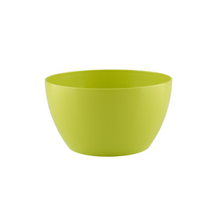 Vaso de Polietileno Bowl Redondo Verde 23x23x12cm