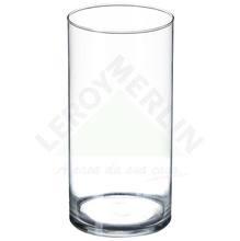 Vaso de Vidro 17x24cm Incolor Luvidarte