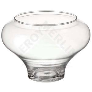 Vaso de Vidro 18x26cm Incolor Luvidarte
