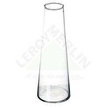 Vaso de Vidro 8,5x25cm Incolor Luvidarte