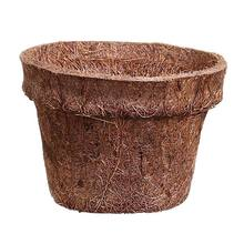 Vaso Fibra de Coco Marrom Mini