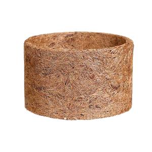 Vaso fibra de coco natural m dio leroy merlin for Fibra ceramica leroy merlin