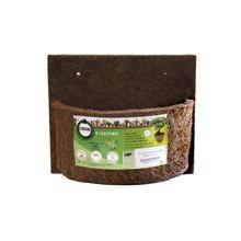 Vaso fibra de coco parede 24x20cm mr