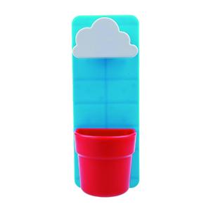 Vaso Nuvem Plástico Azul Pequeno
