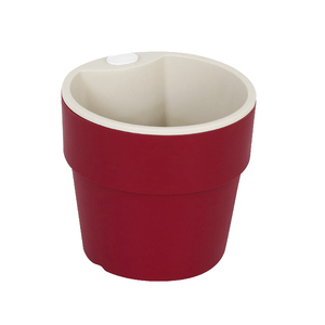 Vaso Plástico Autoirrigável Grande Marsala