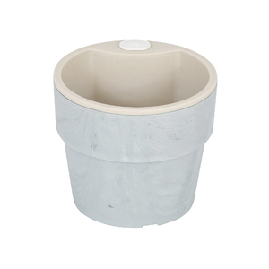 Vaso Plástico Autoirrigável Médio Concreto