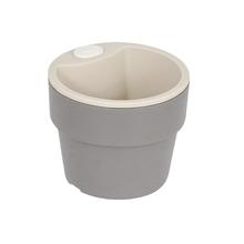 Vaso Plástico Autoirrigável Pequeno Chumbo