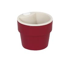 Vaso Plástico Autoirrigável Pequeno Marsala