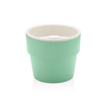 Vaso Plástico Autoirrigável Pequeno Verde