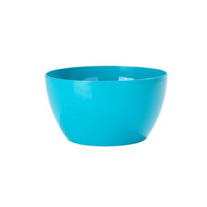 Vaso Plástico Bowl Azul Médio