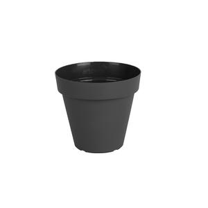 Vaso Plástico Capri Cinza Mini