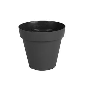 Vaso Plástico Capri Cinza Pequeno