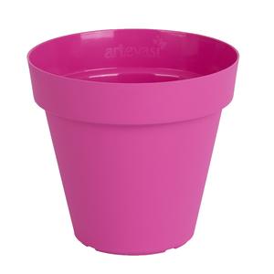 Vaso Plástico Capri Rosa Grande